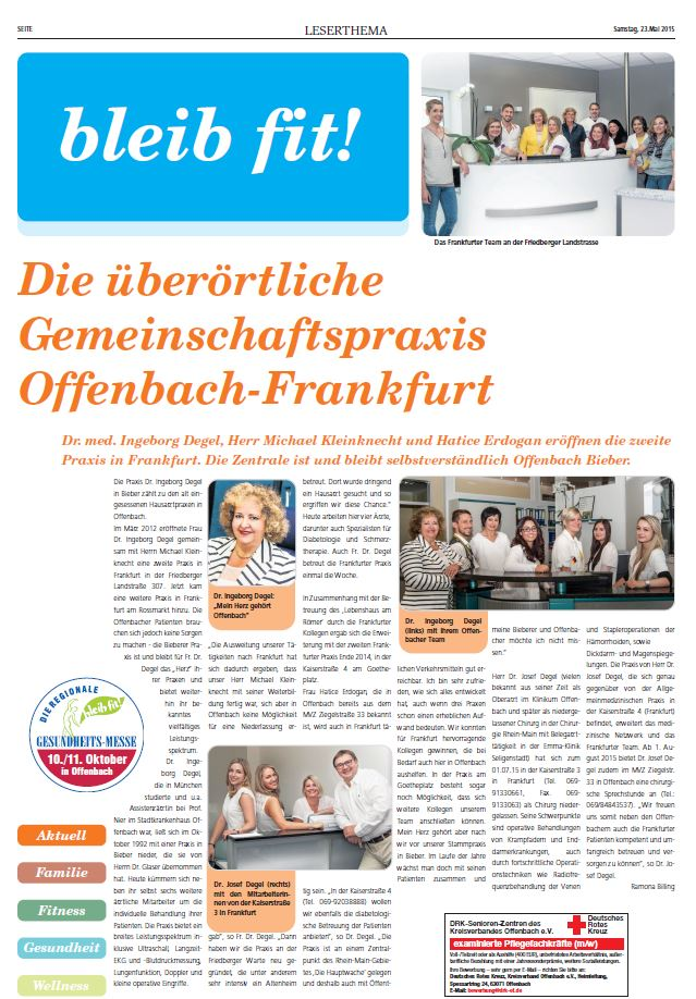bleib fit Offenbach Post